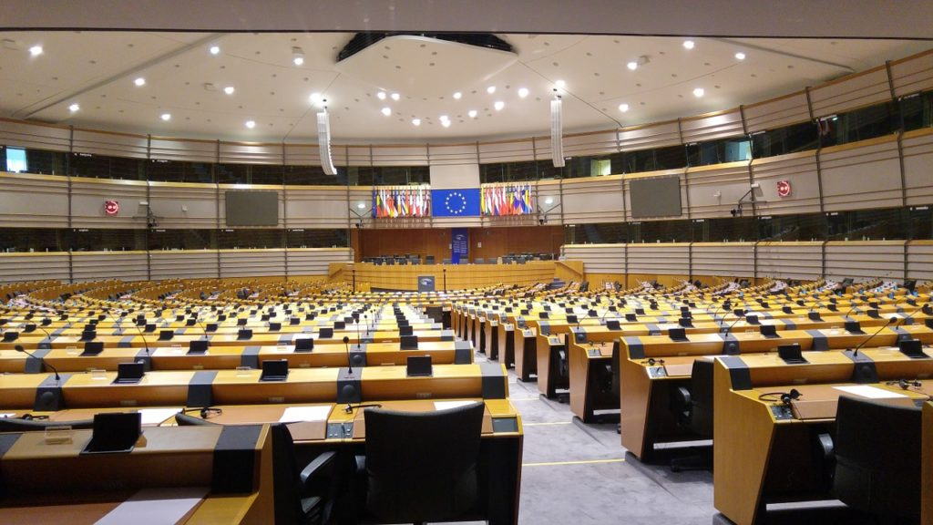plastica Parlamento Europeo